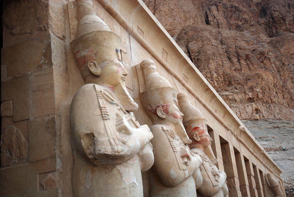 Un temple égyptien